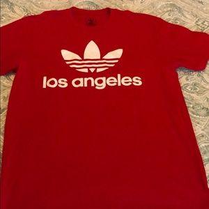 Adidas Men's LA trefoil tee